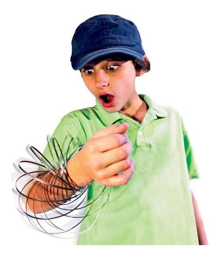 Magic Flow Ring Toroflux Resorte Cinetico Juguete 3d Slinky