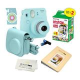 Camara Fuji Instax Mini 9, Cartucho 20 Fotos, Estuche+ Album