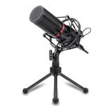 Micrófono Redragon Blazar Gm300 Condensador Cardioide Y Unidireccional Negro
