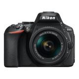 Nikon Kit D5600 18-55mm Vr Dslr Color  Negro