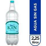 Pack Kin Sin Gas Pet 2,25l X6 Unidades
