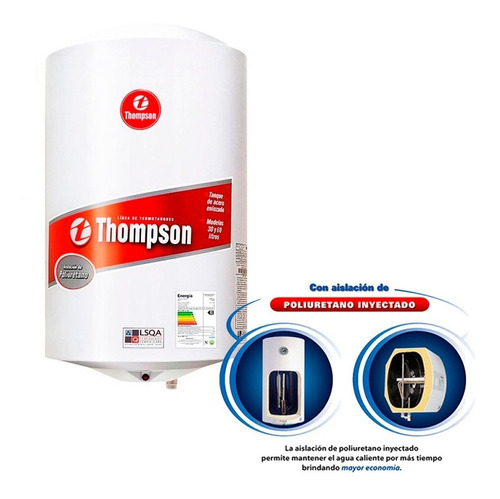 Calefon Termotanques James Thompson 30 Ltsacero Sensacion