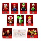 Super Mario Bros  Luigi - Yoshi - Bowser - Toad - Princesa