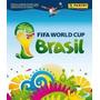 Álbum Da Copa Do Mundo 2014 - Brasil - Vazil- Capa Mole Novo Original