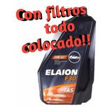 Cambio De Aceite Vw Voyage Elaion F30 + Filtros Colocados