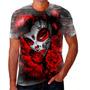 Camiseta Camisa Caveira Mexicana Ticana Maloka Quebrada 07 Original