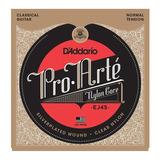 Cuerdas Daddario Nylon Para Guitarra Clasica Pro Arte