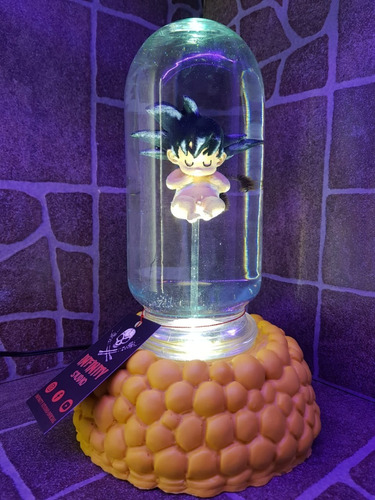 Lampara Capsula Goku ,vegeta, Dragon Ball,infinity Studio