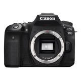Canon Eos 90d Dslr Cor  Preto
