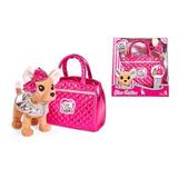 Chichi Love Glam Fashion Perrito Peluche C/ Bolso3125 E.full