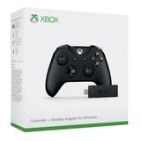 Controle Xbox One S Original + Receiver Adaptador Pc Win 10