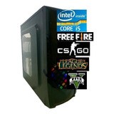 Cpu Pc Gamer Intel Core I5 3.6ghz 8gb Ssd240gb Fonte 500wts
