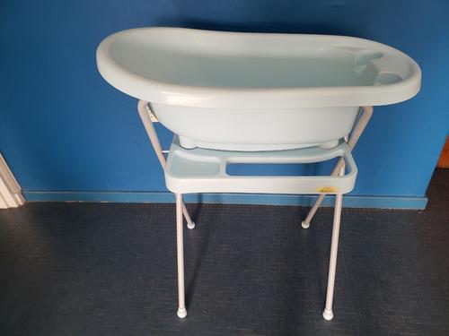 Bañito Para Bebé- Con Soporte Y Plegable