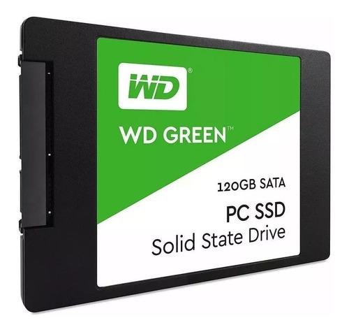 Disco Estado Solido Ssd Western Digital Green 120gb Sata3