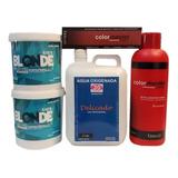 2 Deco +agua X 2l +20 Tinturas Fidelite +aguax990ml
