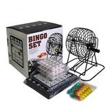 Bingo Set De Metal Con Bolilleros Neo