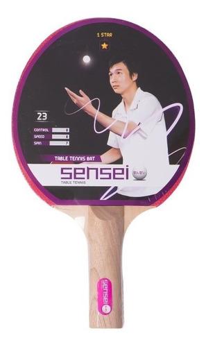 Paleta De Ping Pong Sensei 1 Star Estrella