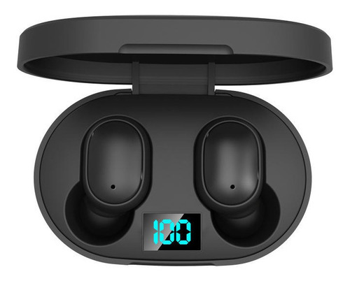 Auriculares Bluetooth Inalambrico E6s Simil Airdot 4hs Music