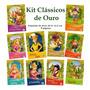 Kit Livro Iantil - Clássicos De Ouro - 10 Und Original