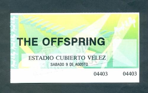 The Offspring  . Antigua Entrada .