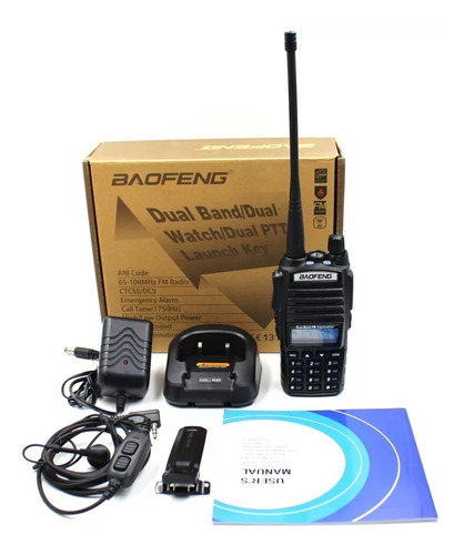 Radio Transmisor Walkie Talkie Baofeng Uv-82 10w Dual Banda