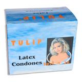 Caja Condones Preservativos Tulip, - Unidad a $258