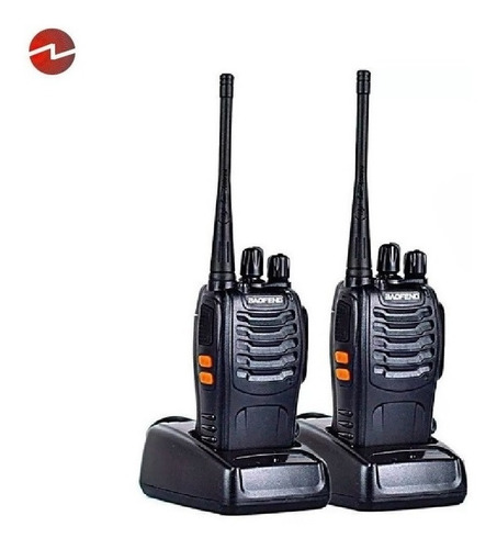Dos Radio Transmisor Walkie Talkie Bf-888s Baofeng Woki Toki