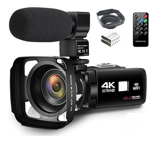 4k Videocámara Cámara De Vídeo Wi-fi Cámara Digital De Panta