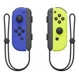 Set De Joystick Inalámbrico Nintendo Switch Joy-con (l)/(r) Azul Y Amarillo-neón