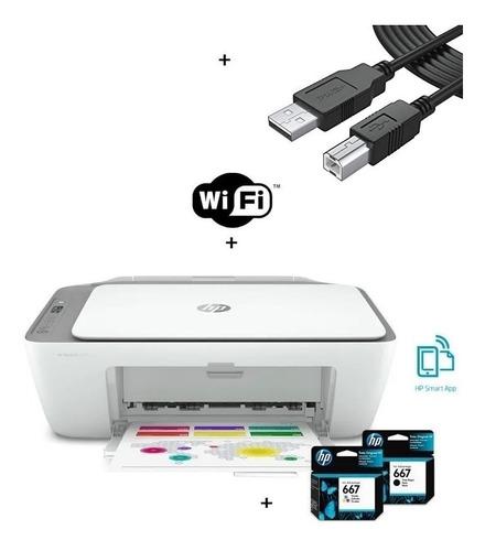 Impresora Multifuncional Hp Advantage 2675. Incluye Tintas