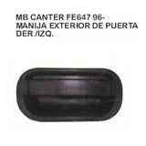 Manija Exterior De Puerta Mitsubishi Canter Fe647 1996 - 06