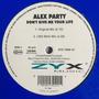 Alex Party - Don't Give Me Your Life - 12  Single Vinil Ger Original