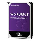 Disco Duro Interno Western Digital Wd Purple Wd101purz 10tb Púrpura