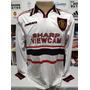 Camisa Manchester United 1998-99 Branca Beckham 7 Champions Original