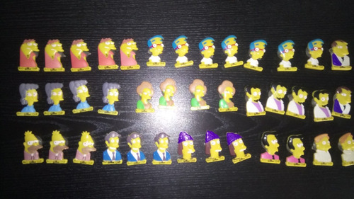 Muñequitos Jack Simpson Sopapitas 3 X $100