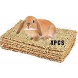 Arenas Conejos Alfombra De Hierba Para Conejo, Juguetes Para