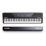 Piano Digital Alesis Recital Pro 88 Teclas Pesadas - Promoção