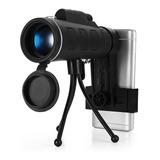 Monocular Para Celular Con Tripie Funda 40x60 Hd Zoom
