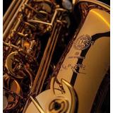 Selmer Supreme Coffee Gold Grabado E Flat Saxofón Alto
