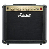 Amplificador Marshall Dsl Dsl15c Combo Valvular 15w Negro Y Dorado 230v