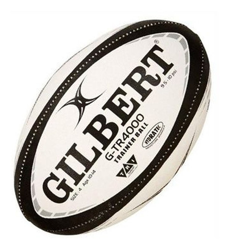 Pelota De Rugby Nº4 Gilbert G-tr4000 Black