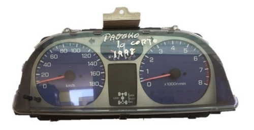 Sinóptico Mitsubishi Pajero Io Corto 2001