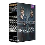 Sherlock Serie Temporadas 1234 Dvd Bbc Britanica