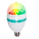 Lampara Led 220v Color Rgb Giratoria Luces Fiestas F