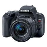Canon Eos Rebel Kit T7 + Lente 18-55mm Is Ii Dslr Cor  Preto