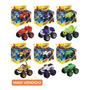 6 Carrinhos De Fricçao Blaze Monster Machine Racer Brinquedo Original