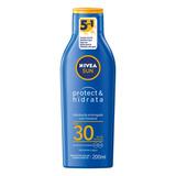 Protetor Solar Nivea Sun Protect & Hidrata  Fps30 200 Ml