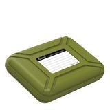 Caja Disco Duro Verde