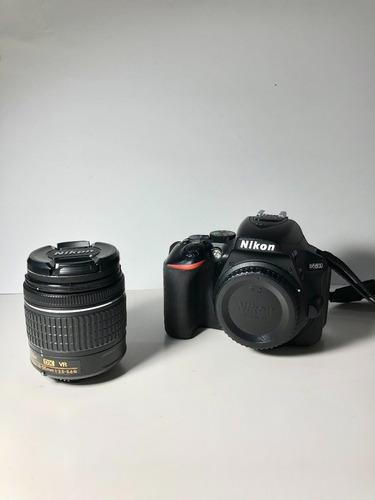 Nikon D5600 Dslr Color Negro Con Lente 18-55mm