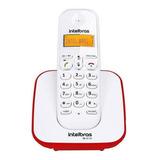 Telefone Sem Fio Intelbras Ts 3110 Vermelho